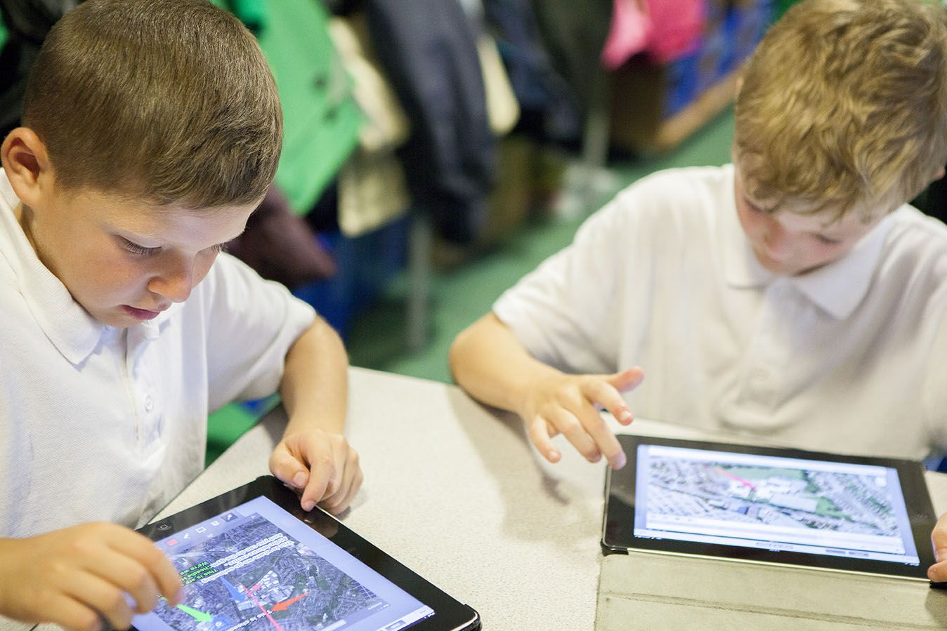 Apple iPad in the classroom
